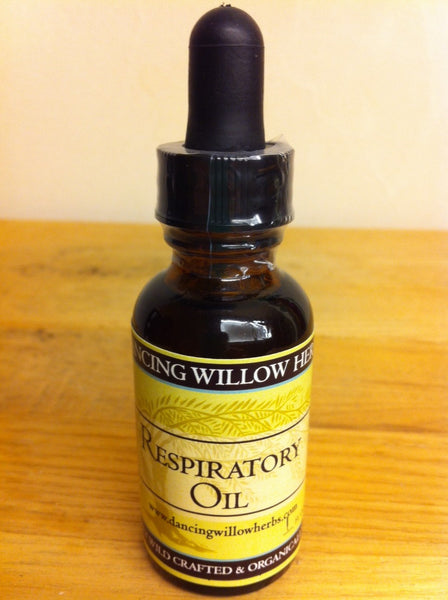 Respiratory Oil - Dancing Willow Herbs oil - herbal formulas