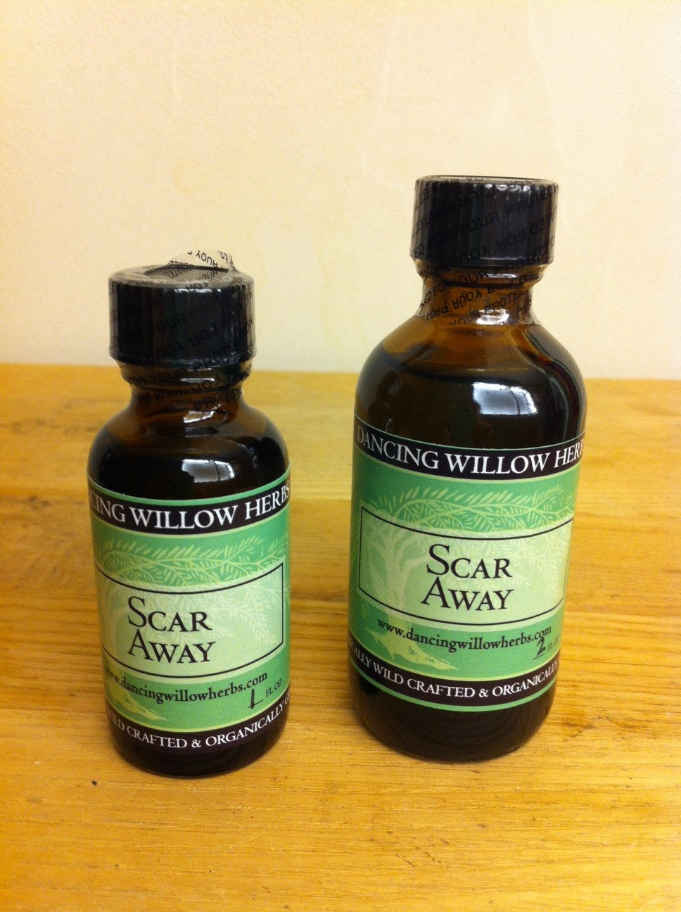 Scar Away - Dancing Willow Herbs oil - herbal formulas