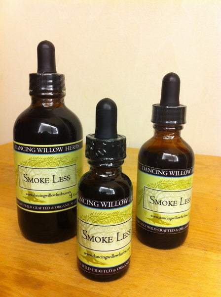 Smoke Less - Dancing Willow Herbs Herbal Formulas - herbal formulas