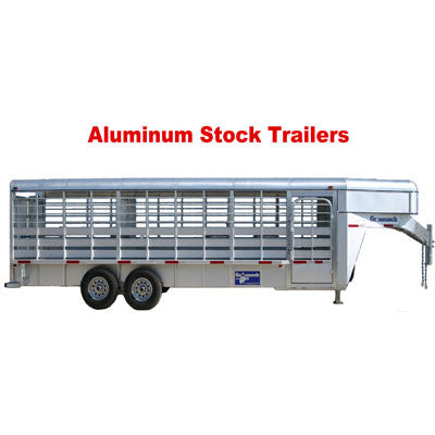 Aluminum Stock Trailer