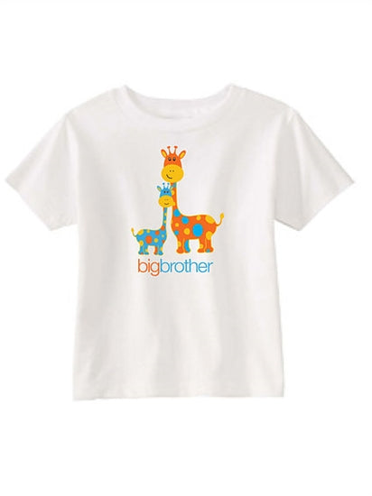 Toddler Boy Big Brother T-Shirt Sibling Gift