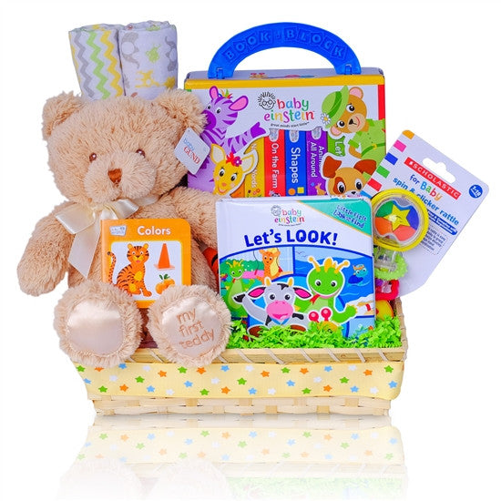 Baby Einstein Reading Board Books Gender Neutral Gift Basket