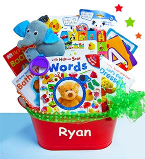 Baby Einstein Touch & Discover Books Deluxe Baby Gift Basket - As Your Baby Grows Gift Boutique
