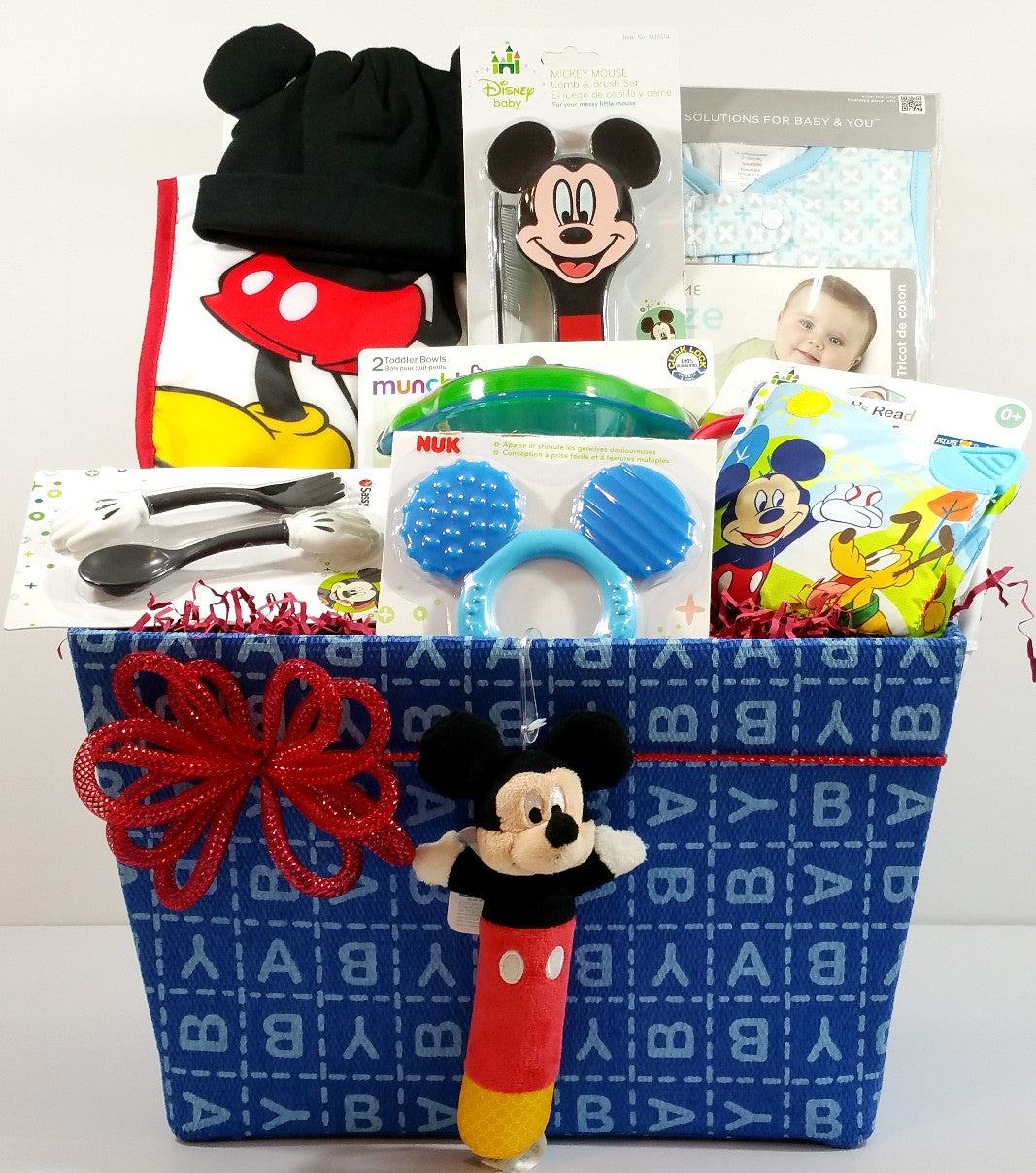 Mickey Mouse U2013 Oh Boy! Baby Gift Basket