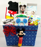Mickey Mouse – Oh Boy! Baby Gift Basket - As Your Baby Grows Gift Boutique
