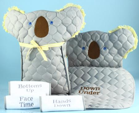 Koala Baby Diaper Changing Pad Tote Bag Gender Neutral Gift Set