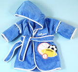 Sports Balls Baby Boy Hooded Bathrobe Cover Up