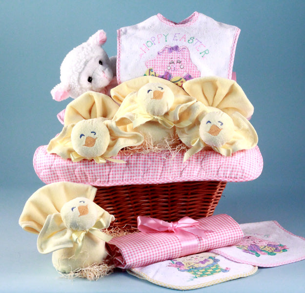 Baby Girl Easter Holiday Gift Basket