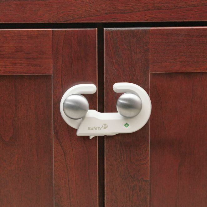 Safety 1st Grip 'N Go Baby Childproof Cabinet Lock - 2 Pack - As Your Baby Grows Gift Boutique
