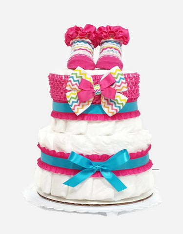 Diaper cakes new baby gifts baby shower gifts as your baby grows new arrivals shop by theme custom made baby gifts negle Image collections