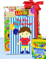 Big Brother Coloring Book Gift Set - As Your Baby Grows Gift Boutique