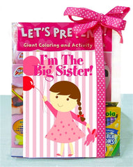 I'm A Big Sister! Coloring & Activity Gift Set - As Your Baby Grows Gift Boutique