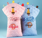 Pride & Joy Twins Diaper Changing Pads Baby Gift Set