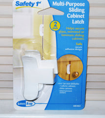 Safety 1st Sliding Cabinet Baby Toddler Lock - 2 Pack - As Your Baby Grows Gift Boutique