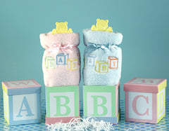 ABC Blocks Baby Blanket Gift Set