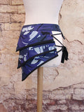 Skirt - Blue Camouflage Apocalypse Mini Skirt Unisex