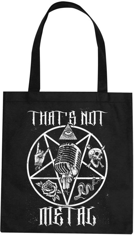 That's Not Metal PentaCrest Tote Bag