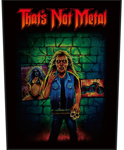 Billy Bulletbelt Back Patch