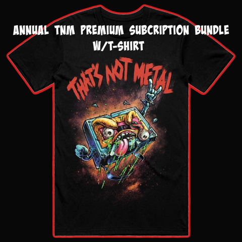 TNM Premium Annual Subscription Bundle 2020 w/ Cassette 2.0 T-Shirt