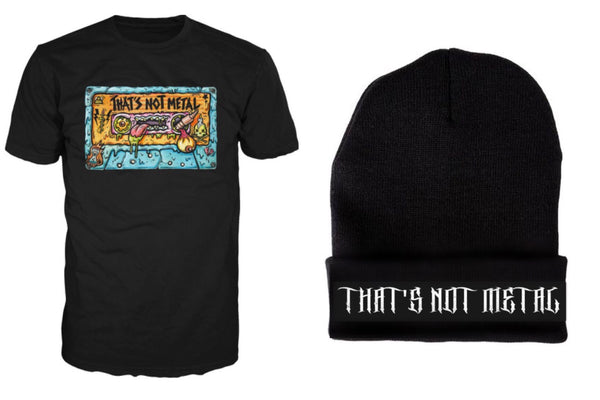 That's Not Metal Premium Annual Subscription Bundle with T-Shirt and Beanie 2016/2017