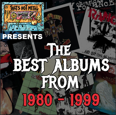The Best Albums From Each Year: 1980-1999