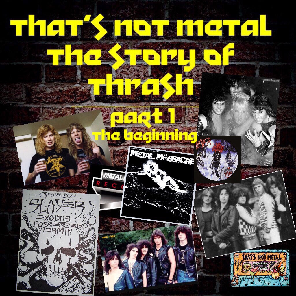 The Story Of Thrash Metal Part 1: The Beginning [Members]