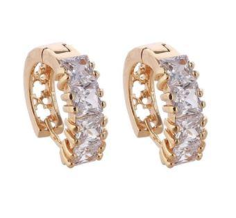 Sparkling Hoop Earrings - Classic Design