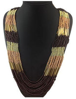 Amazing Multilayer Seed Bead Necklace