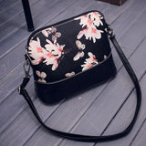 Beautiful Floral Shoulder Messenger Bag