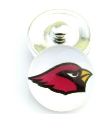 Arizona Cardinals - Snap Button