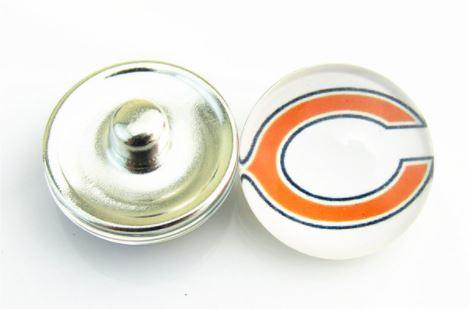 Chicago Bears - Snap Button
