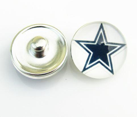 Dallas Cowboys - Snap Button