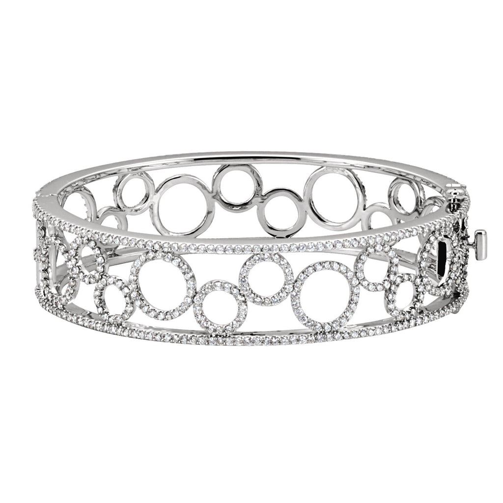65484:60001:P - Diamond Bangle Bracelet