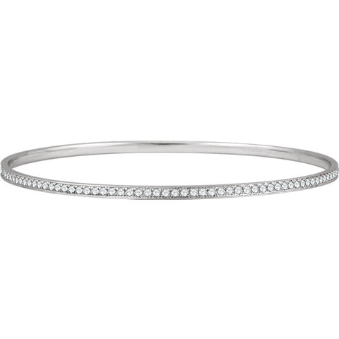 651751:60001:P - Diamond Bangle Bracelet