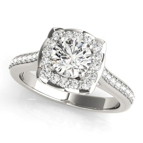 51035-E-1- ENGAGEMENT RING 14KT