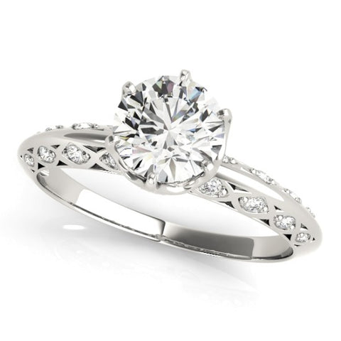 51071-E-1 - ENGAGEMENT RING 14KT