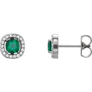 86071:101:P - Diamond Earrings