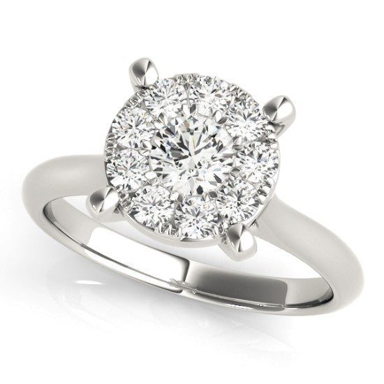 84850-A - ENGAGEMENT RING 14kt