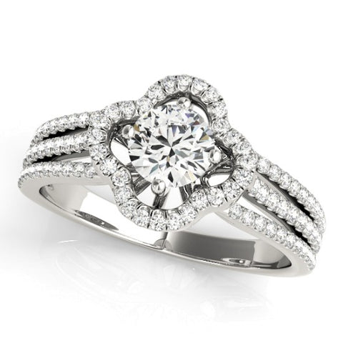 84903 - ENGAGEMENT RING 14 kt