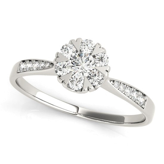 84904 - ENGAGEMENT RING 14 kt