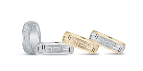 N18249S  - MENS BAND 6MM STANDARD WT 14KT