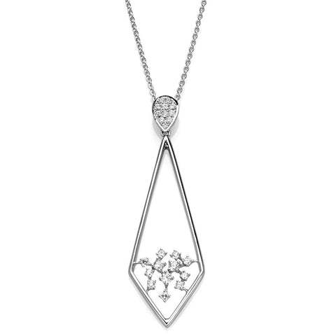 S1NK206 - 14KW DIAMOND NECKLACE;DIAMOND=1/3 CTTW