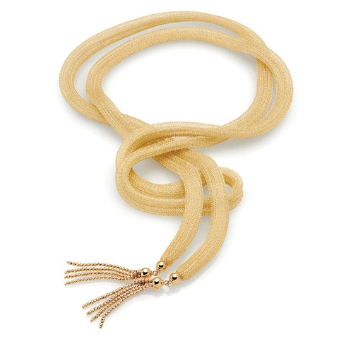 S1NK217 - 14K YELLOW NECKLACE
