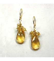 DEE024 - Citrine Earrings