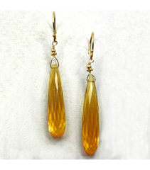 DEE026 -Citrine Earrings