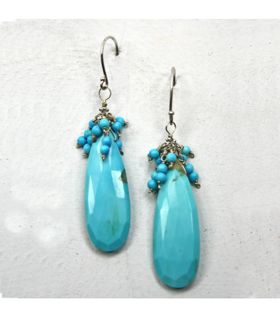 DEE034 - Turquois Earrings