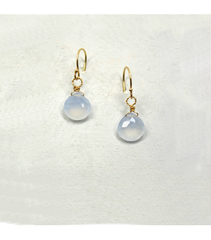 DEE052 - Chalcedony Earrings