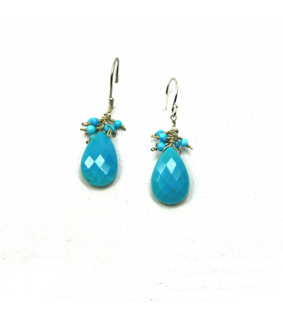 DEE054 - Turquoise Earrings