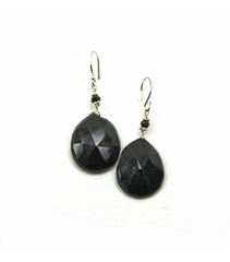 DEE068 - Onyx Earrings