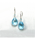DEE070 - Blue Topaz Earrings